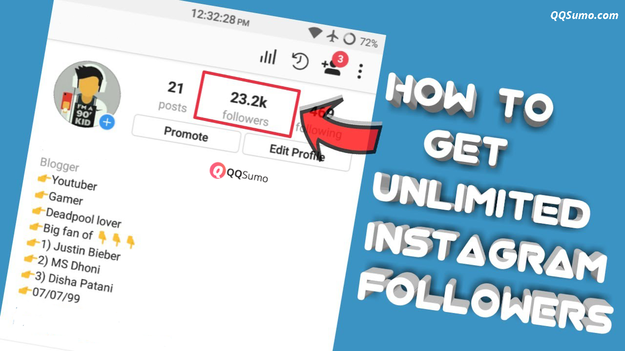 25 free ways to increase your instagram followers l qqsumo qqsumo blog How To Get More Followers On Instagram L Qqsumo Qqsumo Blog